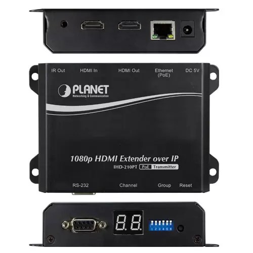 IHD-210PT HDMI Extender all sides