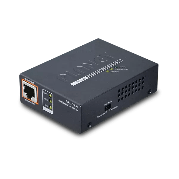 POE-171A-95 Single-Port 10/100/1000Mbps 802.3bt PoE Injector (95W)