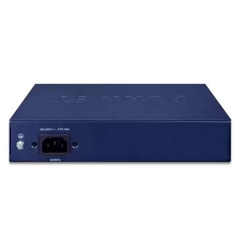 FSD-1008HP PoE Switch Back