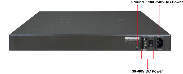 GS-5220 Series Redundant power