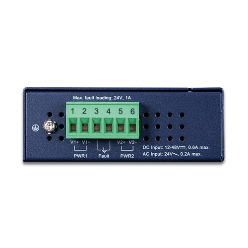 IXT-705AT Industrial Media Converter Top