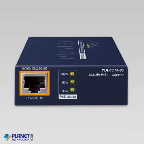 POE-171A-95 (V3) PoE Injector Front