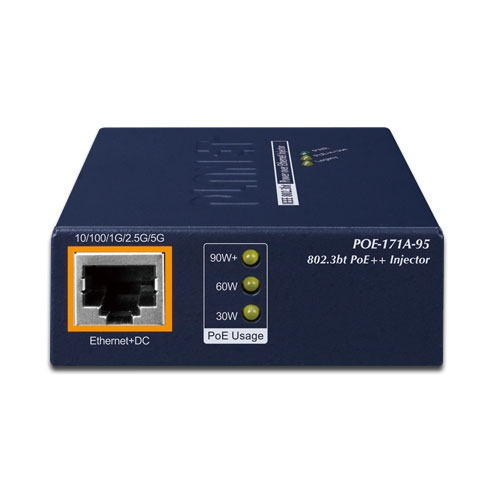 POE-171A-95 PoE Injector Front