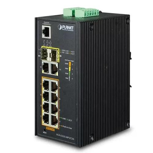IGS-5225-8P2T2S PoE Switch