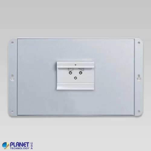 WGS-4215-16P2S Industrial Wall Mount PoE Switch Back