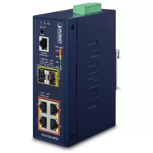 IGS-5225-4P2S PoE Switch
