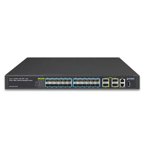 XGS-6350-24X4C QSFP Switch Front