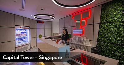 Capital Tower, Inside - Singapore
