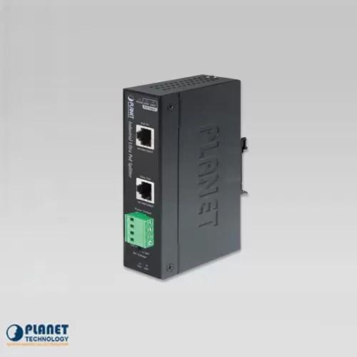 IPOE-171S Industrial Single-Port 10/100/1000Mbps Ultra PoE Splitter