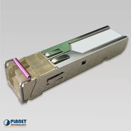 MFB-TFB40 WDM Tx-1550, 100Mbps SFP fiber transceiver (-40 to 75C) - 40KM