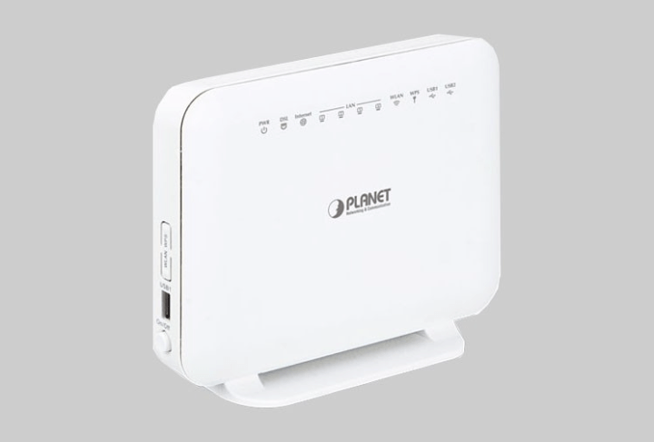 Wireless VDSL2 Router: VDR-300NU from Planet Technology