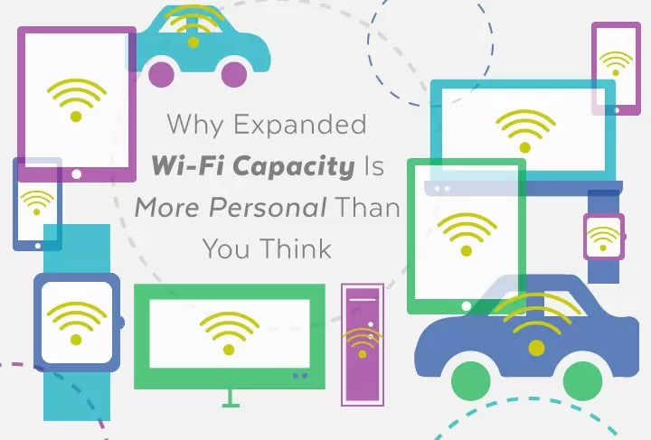 Why Expanded Wi-Fi Capacity Is More Personal Than You Think