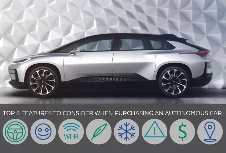 Top 8 Features to Consider When Purchasing an Autonomous Car