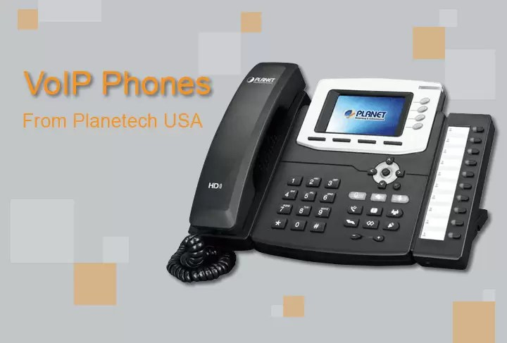 Experience Seamless HD VoIP Communication With Color LCD