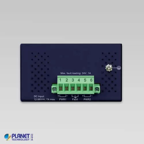 IGS-614HPT Industrial PoE Switch Top