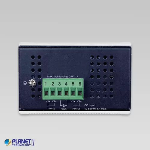 IGUP-1205AT Industrial Media Converter Top