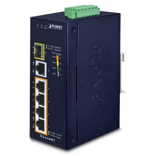 IGS-614HPT PoE Switch