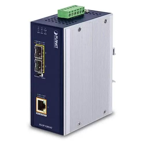 IGUP-1205AT PoE Media Converter
