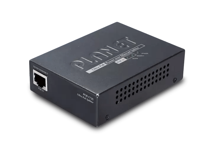 POE-172S Single-Port 10/100/1000Mbps Ultra PoE Splitter (12V/19V/24V)