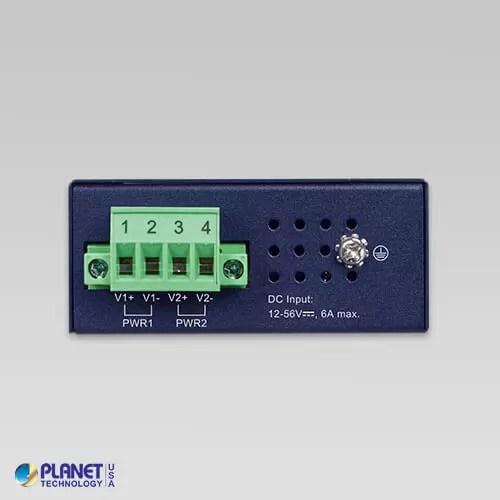 IPOE-260-12V Industrial PoE Injector Hub Top