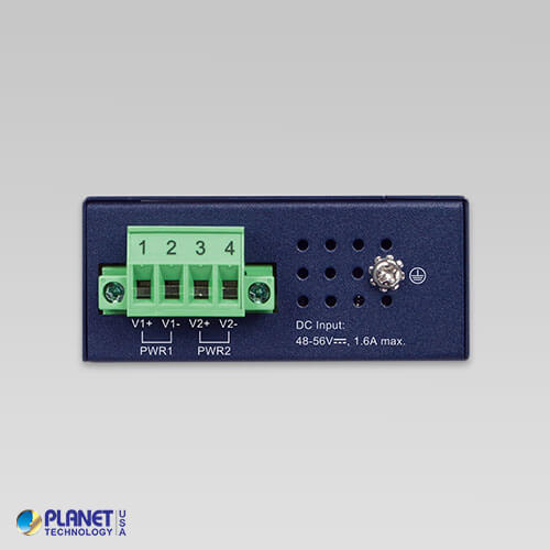 IPOE-260 Industrial PoE Injector Hub Top