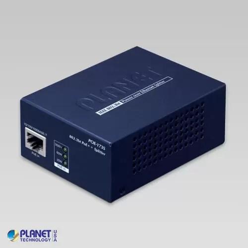 POE-173S Single-Port 10/100/1000Mbps 802.3bt PoE++ Splitter