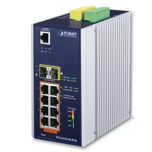 IGS-6325-8UP2S Industrial PoE Switch