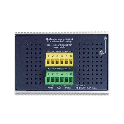 IGS-6325-8UP2S Industrial PoE Switch Top
