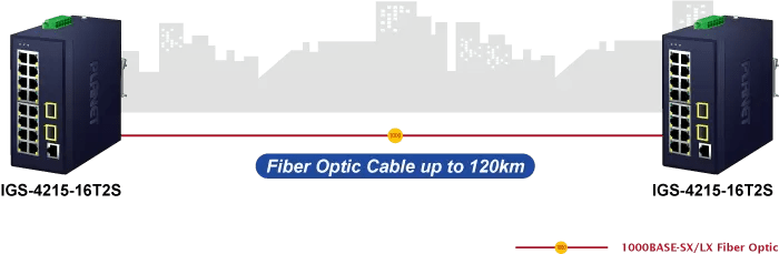 IGS-4215-16T2S Fiber Optic Cable