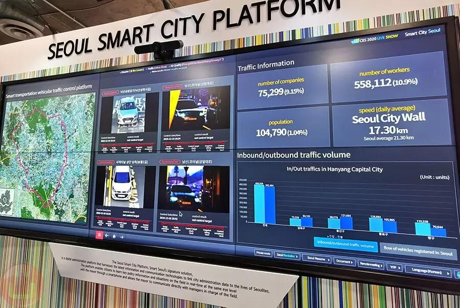 CES 2020 - Seoul Smart City Platform