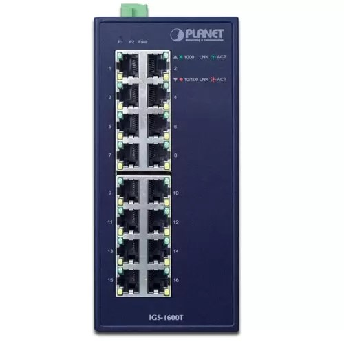IGS-1600T Industrial Switch Front