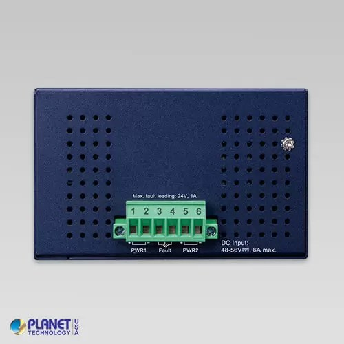 IGS-1020PTF Industrial PoE Switch Top