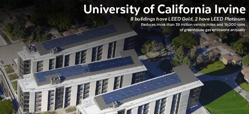 University of California Irvine - Green Campus