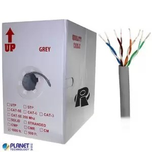 CP-C5E-SDP-GY Bulk Ethernet Cable Gray