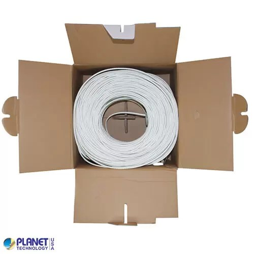 CP-C5E-SDP-WH Bulk Ethernet Cable White Open Box