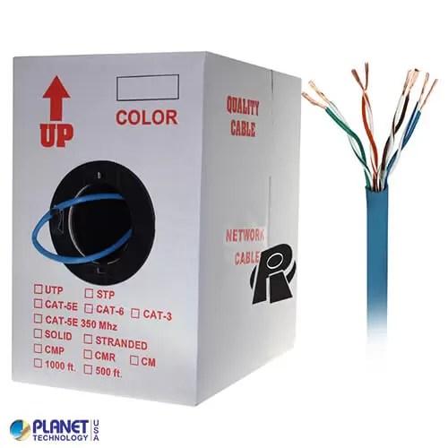 CP-C5E-ST-1K-BL Bulk Ethernet Cable