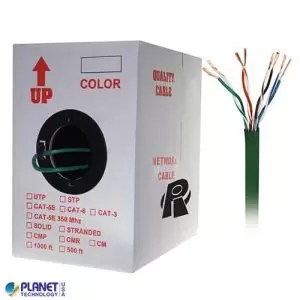 CP-C5E-ST-1K-GN Bulk Ethernet Cable Green
