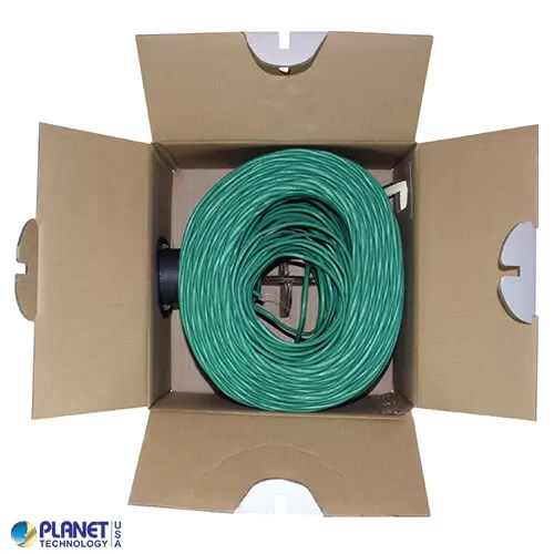 CP-C5E-ST-1K-GN Bulk Ethernet Cable Green Open Box