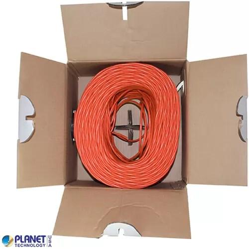 CP-C5E-ST-1K-OR Bulk Ethernet Cable Orange Open Box