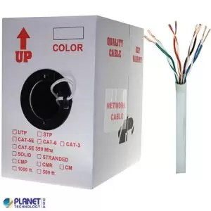 CP-C5E-ST-1K-WH Bulk Ethernet Cable White