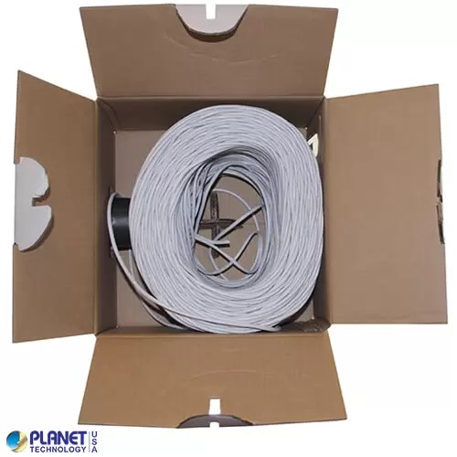 CP-C5E-ST-1K-WH Bulk Ethernet Cable White Open Box