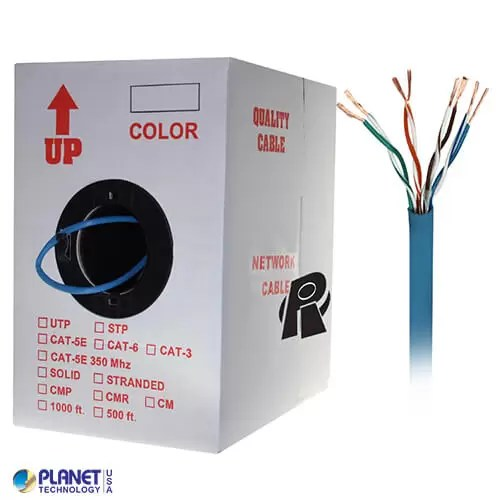 CP-C6-ST-1K-BL Ethernet Cable Blue