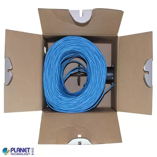CP-C6-ST-1K-BL Ethernet Cable Blue Inside