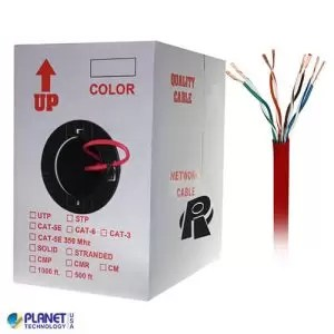 CP-C6-ST-1K-RD Ethernet Cable Red