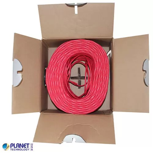 CP-C6-ST-1K-RD Ethernet Cable Red Open Box