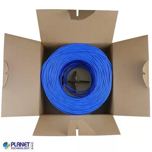 CPE-5E-SD-1K-BL Bulk Ethernet Cable Open Box