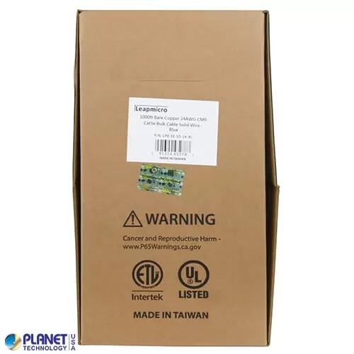 CPE-5E-SD-1K-BL Bulk Ethernet Cable Box