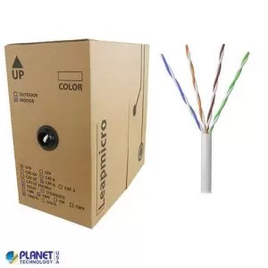 CPE-5E-SD-1K-WH Bulk Ethernet Cable White