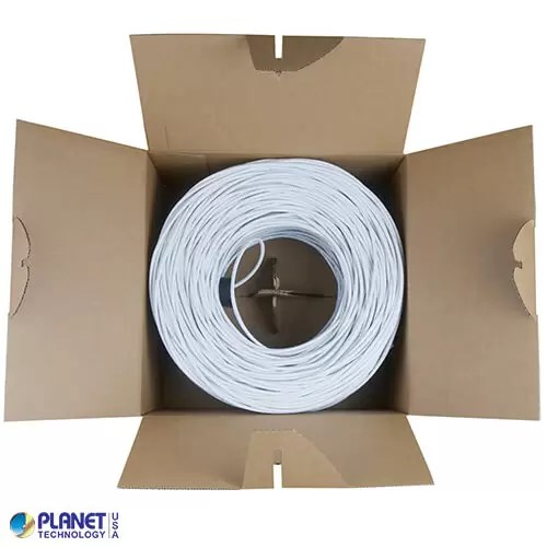 CPE-5E-SD-1K-WH Bulk Ethernet Cable White Open Box