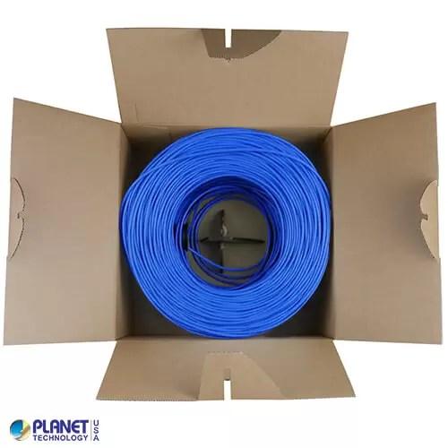 CPE-C6-SD-1K-BL Ethernet Cable Bundle Blue Box Inside